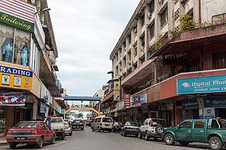 Lahad Datu District Capital in Sabah, Malaysia