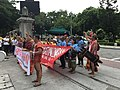 Lakbayan 2017 Protest in front of University of Santo Tomas 2.jpg