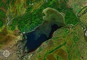 Lake Bolon - from space