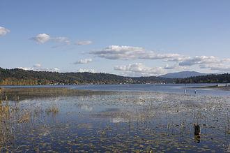 Lake Sammamish - Lake Sammamish from Marymoor Park