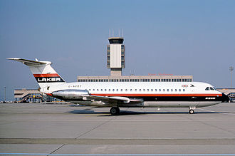 Laker Airways - BAC One-Eleven in 1977