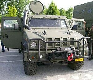 Iveco LMV - Croatian Iveco LMV