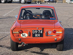 Lancia Fulvia Coupe Rallye 1.6 HF 2nd Series dutch licence registration 09-74-RH pic5