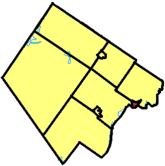 Smiths Falls - Smiths Falls within Lanark County.