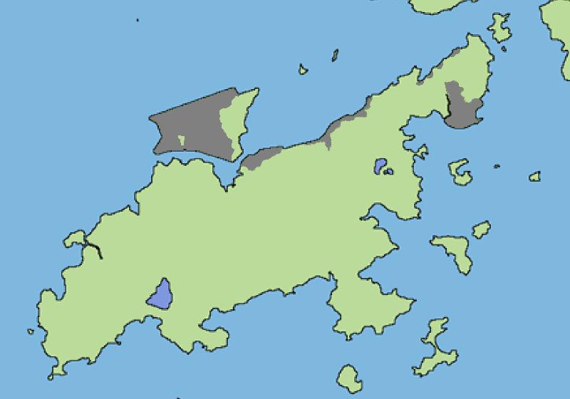 Lantau Island reclamation