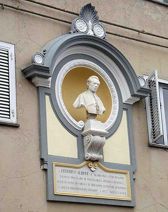 Federico Albert - Bust.