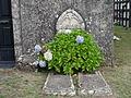 Lapida Igrexa Beigondo, Santiso, Coruña.JPG