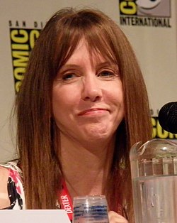 Laraine Newman at Comic-Con 2011 Cartoon Voices II Panel.jpg