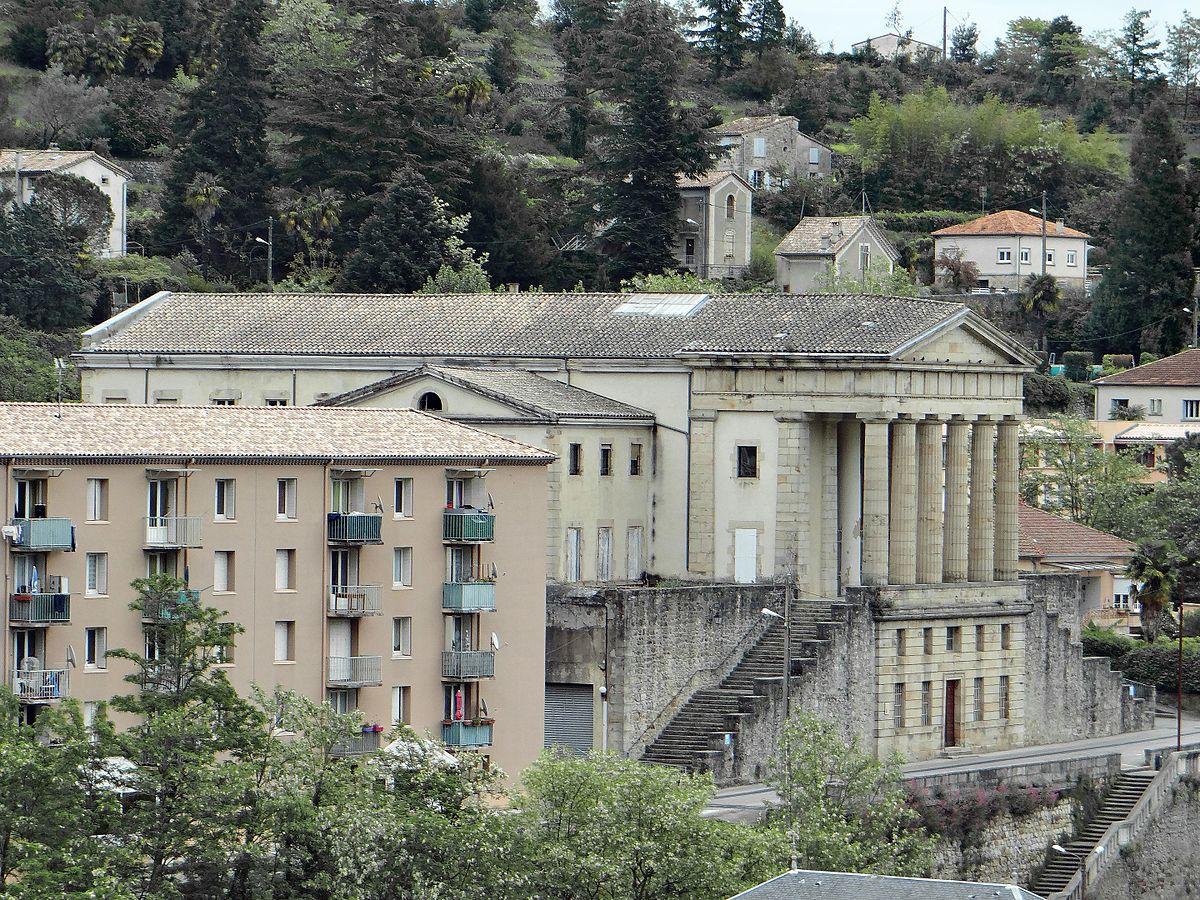 Palais de justice de Largentière — Wikipédia