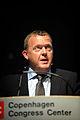 Lars Loekke Rasmussen, statsminister Danmark, talar vid invigningen av Nordic Climate Solutions 2009. 2009-09-08.jpg