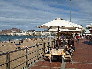 Strandpromenade Playa de las Canteras