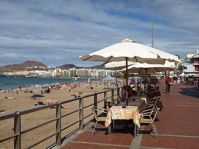 File:Las Palmas Playa de las Canteras.jpg