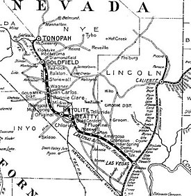 Las Vegas and Tonopah Railroad Wikipedia