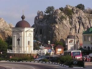 Laspi Pass - The Chapel of Christ's Nativity