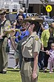 Last Post played by Australian Army Band Kapooka member at the Centenary of the Kangaroo March commemoration ceremony.jpg