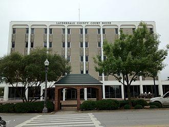 Lauderdale County, Alabama - Image: Lauderdale County Courthouse in Florence, Alabama
