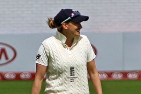 Laura Marsh, 2019 Ashes Test.jpg