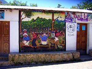 San Juan La Laguna - Image: Leñadores