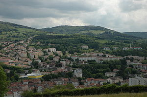 Le Chambon-Feugerolles - A general view of Le Chambon-Feugerolles