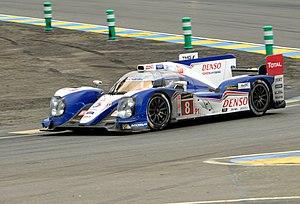 Toyota TS030 Hybrid - Image: Le Mans 2013 (9347549094)