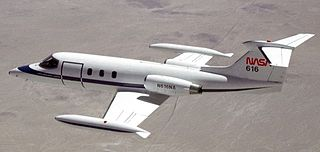 Learjet 25 airplane
