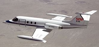 Learjet 25 - A NASA Learjet 25