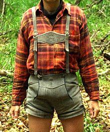 traditionele tiroler kleding