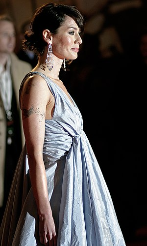 Lena Headey - Headey at the 300 London premiere, 2007