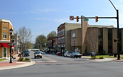 Main Street in downtown Lenoir