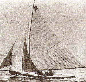 Ton class - Lérina during a sailing competition