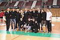 Les Phoenix de Wasquehal avec la Coupe du Championnat de France de Division 2..JPG