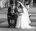 Les mariés du pont des Arts, Paris 15 mai 2014.jpg