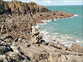 Les rochers de la côte de Rothéneuf (7191443680).jpg