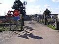 Level Crossing off Felixstowe Road - geograph.org.uk - 1187869.jpg