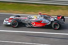 Hamilton al Gran Premio di Cina 2008