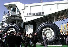 Liebherr T 282 B mining truck