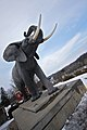 Life-size statue of Jumbo the elephant - panoramio.jpg