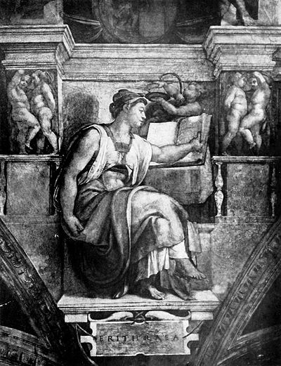 Life of Michael Angelo, 1912 - Erythraen Sybil.jpg