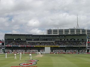 Dennis Lillee - The Lillee-Marsh Stand at the WACA Ground