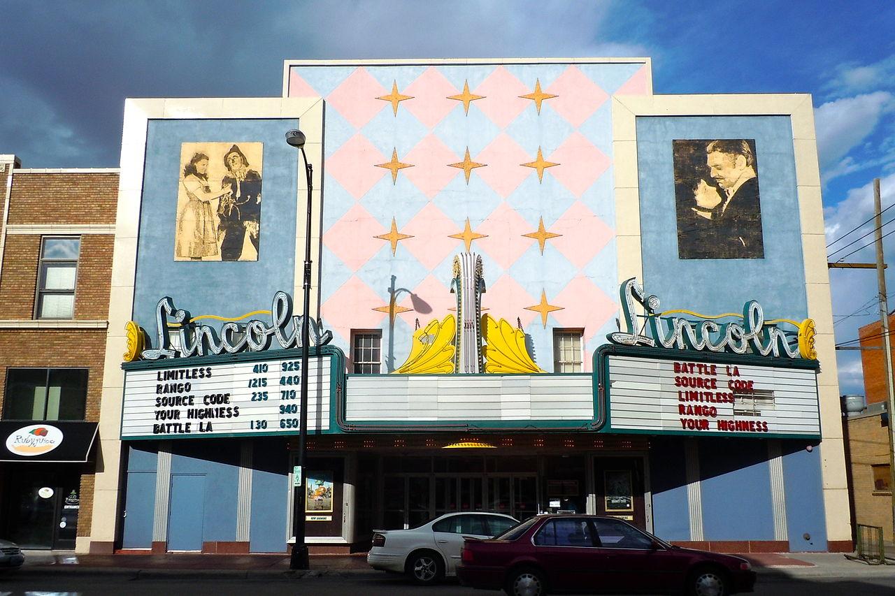 File Lincoln Theater Cheyenne Jpg Wikimedia Commons