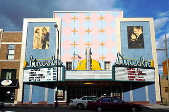 Lincoln Highway - Lincoln Theater in Cheyenne, Wyoming