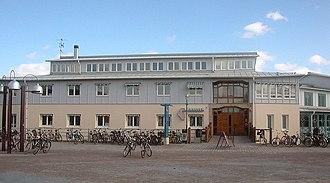 Linköping University - Student union building on Campus Valla.