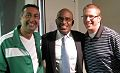 Lino Rulli Al Roker and Father Rob Keighron.jpg