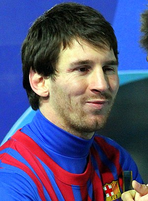2011 FIFA Ballon d'Or - Image: Lionel Messi Player of the Year 3, 2011
