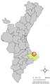 Localització del Verger respecte del País Valencià.png