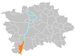 Location map municipal district Prague - Zbraslav.PNG