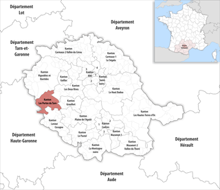 Kanton les portes du tarn wikipedia - Les portes du hammam vendargues ...