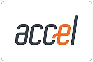 Accel (interbank network) - Image: Logo of company, Accel