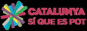 Catalunya Sí que es Pot - Image: Logotip Catalunya Sí que es pot
