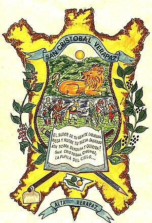 San Cristóbal Verapaz - Image: Logotipo municipalidad San Cristobal Verapaz